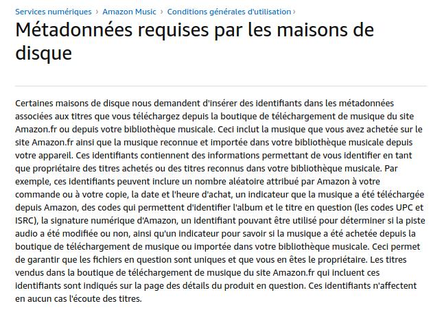 Spotify-Downloader : Extrait de amazon.fr