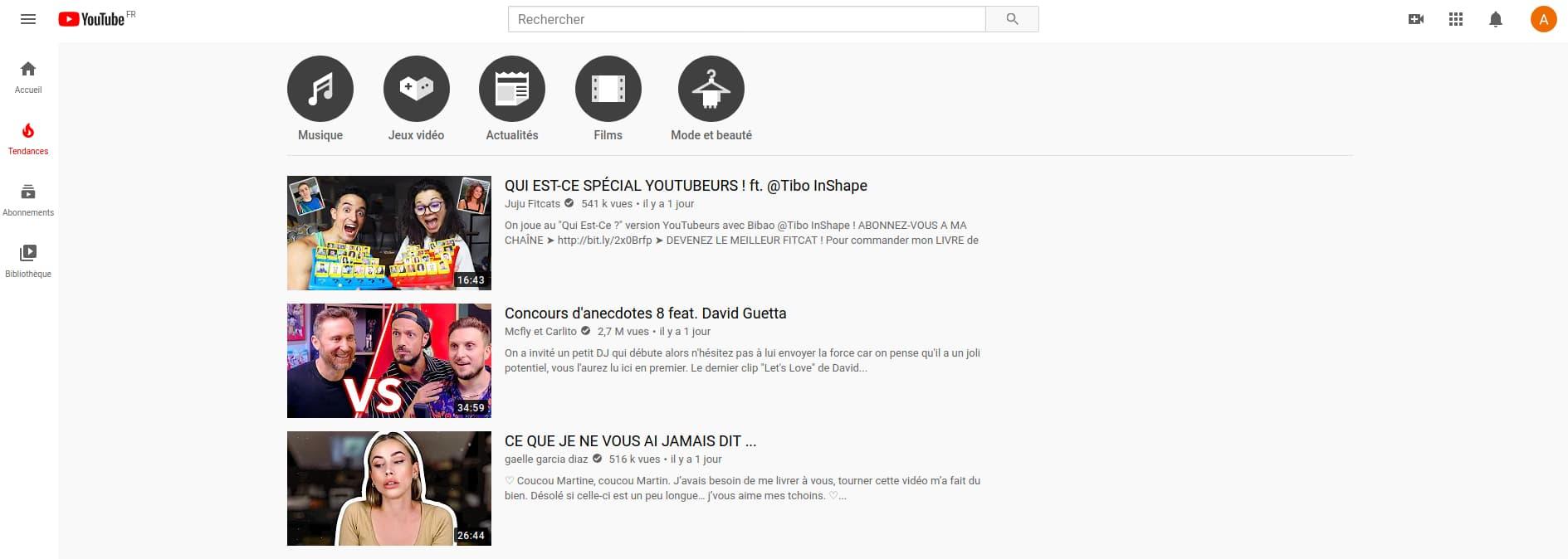 Freetube : Interface Très Proche De YouTube